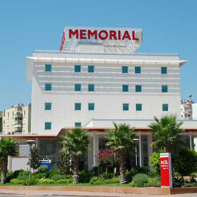 Check best treatment prices in Turkey at Memorial Antalya Hospital